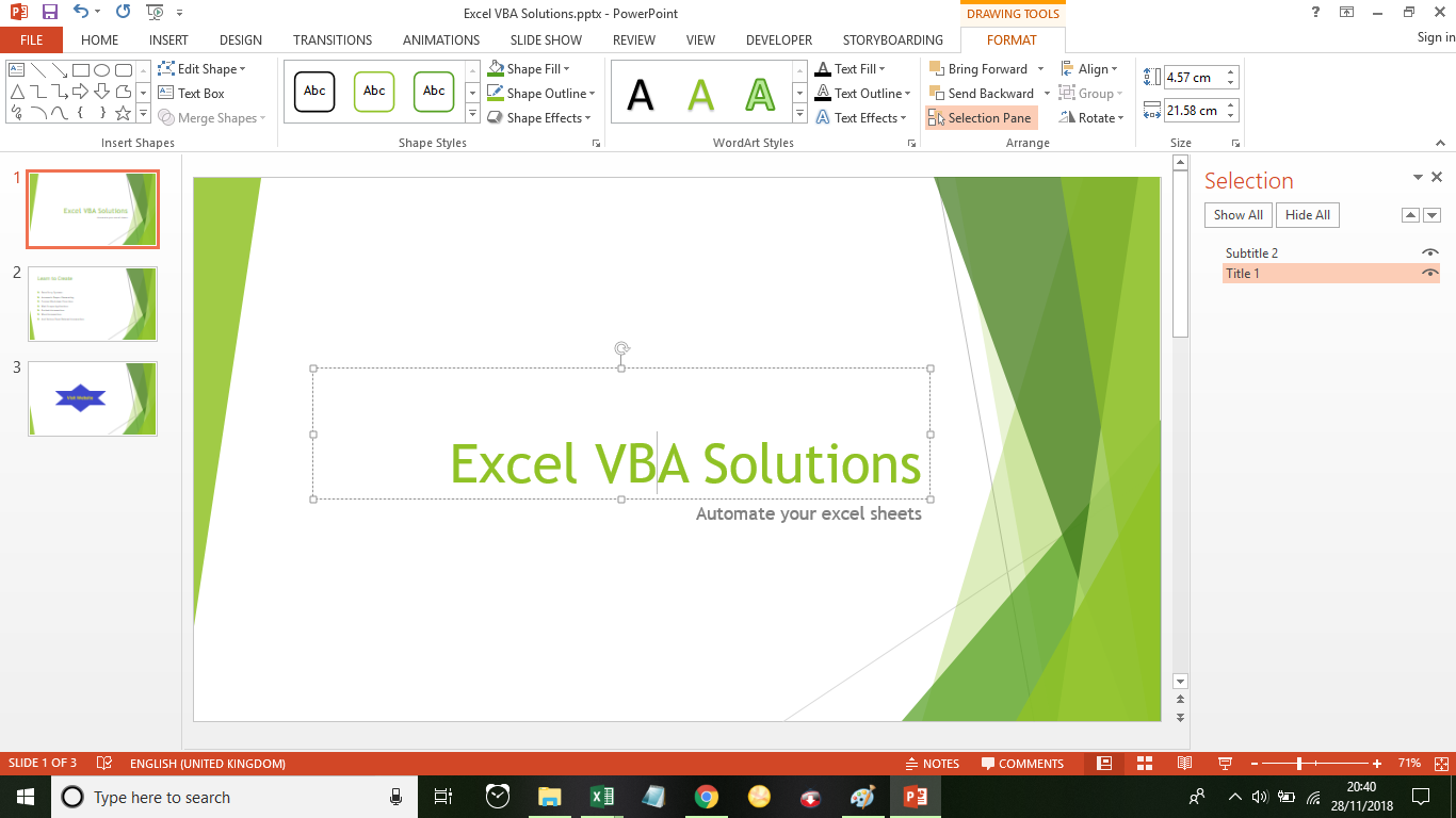 Excel Vba Solutions How To Find Names Of Objects In A