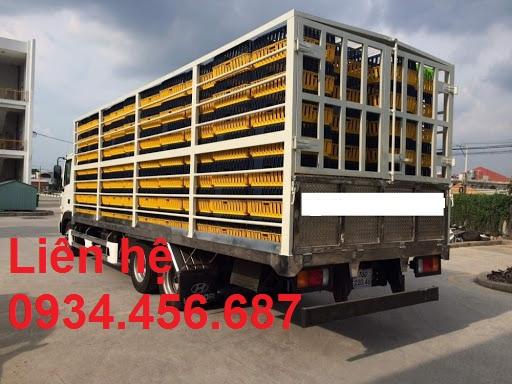 Xe tải chở gia cầm Hyundai HD240