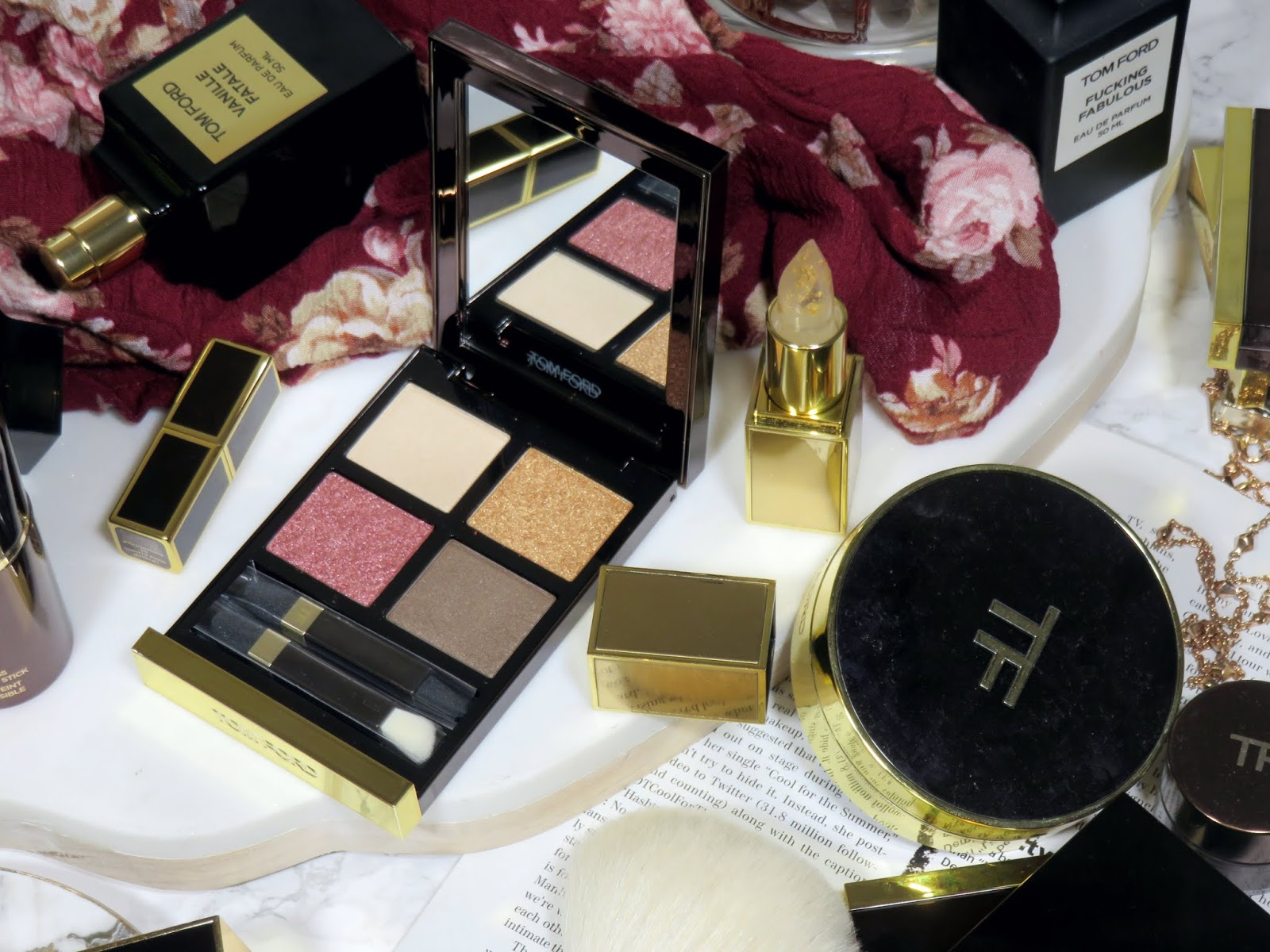 Tom Ford Arabesque Eye Color Quad Review & Swatches