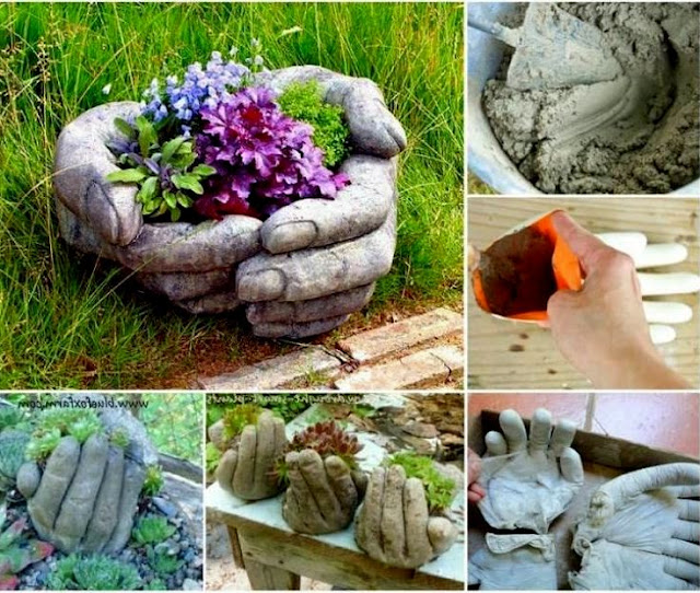 Gartendeko Beton Anleitung