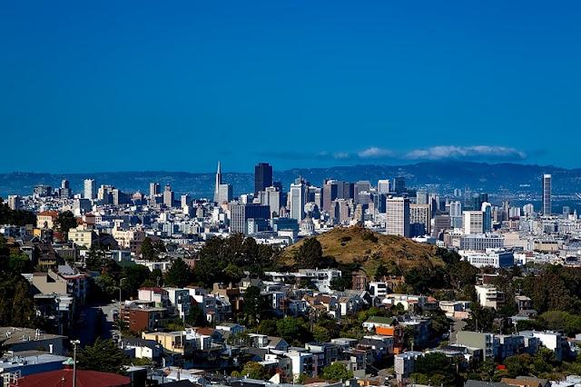 Condições climáticas no mês de abril em San Francisco