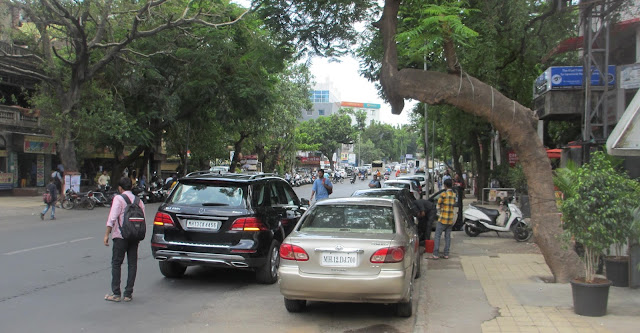 On-street parking fees despite zero public transport?