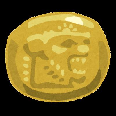エレクトロン貨のイラスト