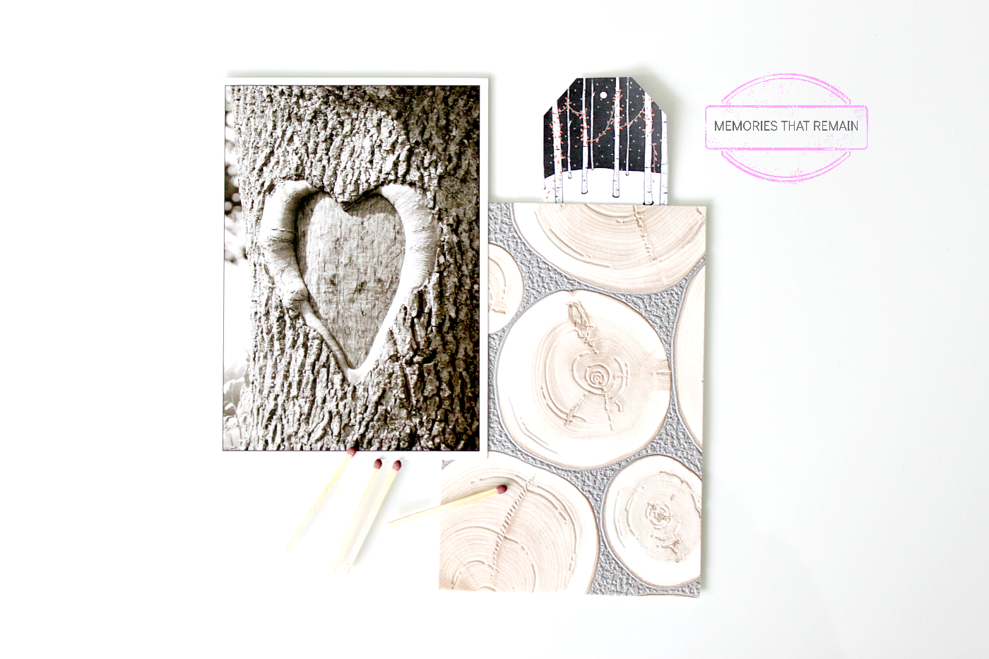 tree bark mood board