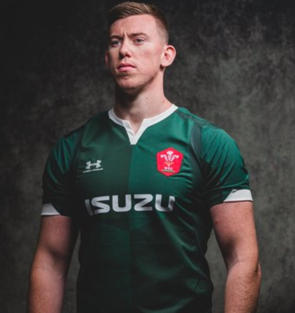 Wales away kit Green six nations 2020