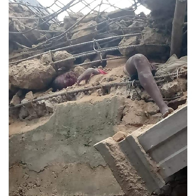 Four dead, more feared trapped as building under construction collapses in Aba