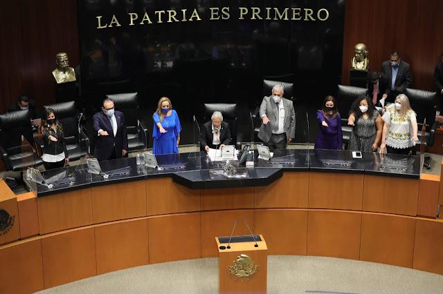 Los yucatecos Ramírez Marín y Camino Farjat, a la Mesa Directiva del Senado