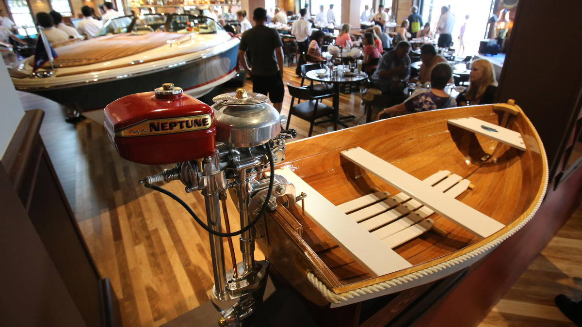Just A Car Guy: the Boat House Restaurant, at Disney Springs, Orlando