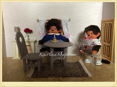 kiki monchhichi doll poupée toys life cute vintage kidult plush