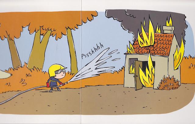 buongiorno pompiere babalibri