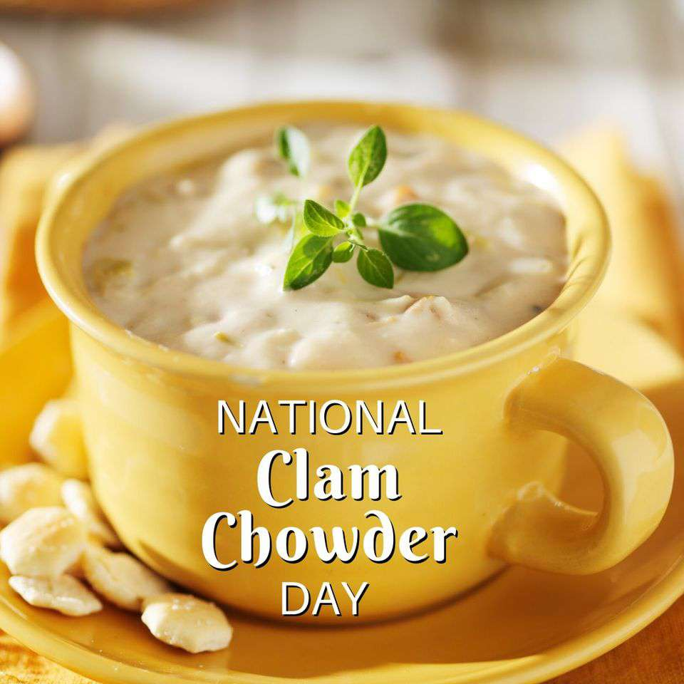 National Clam Chowder Day Wishes pics free download