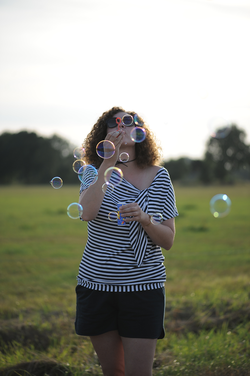 bubbles, Seifenblasen, La Maison Victor, Burda style, nähen, sewing, DIY, Streifen, stripes, nähen, sewing, Prada
