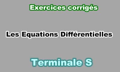Exercices Corrigés Equations Différentielles Terminale S PDF