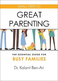 Small Steps to Great Parenting by Kalanit Ben-Ari #BookReview #BookChatter #Books
