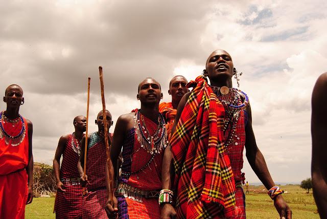 masai tribus en Africa