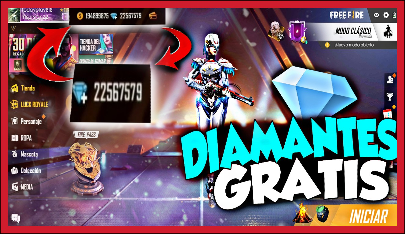 Ofertas free fire diamantes