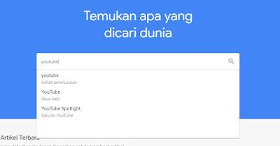 Cara Riset Keyword Youtube di Google Trends