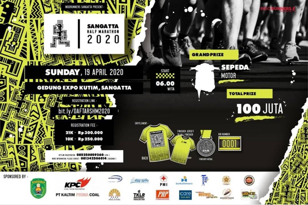 Sangatta Half Marathon • 2020