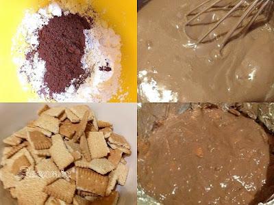 GRACEY cake - preparation