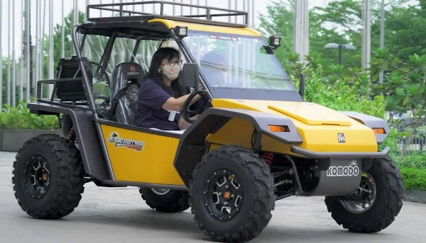 Mobil Kecil Segala Medan Khas Fin Komodo