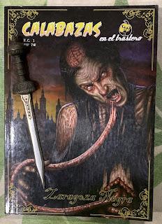 Portada del libro Calabazas en el trastero: Zaragoza negra, de varios autores