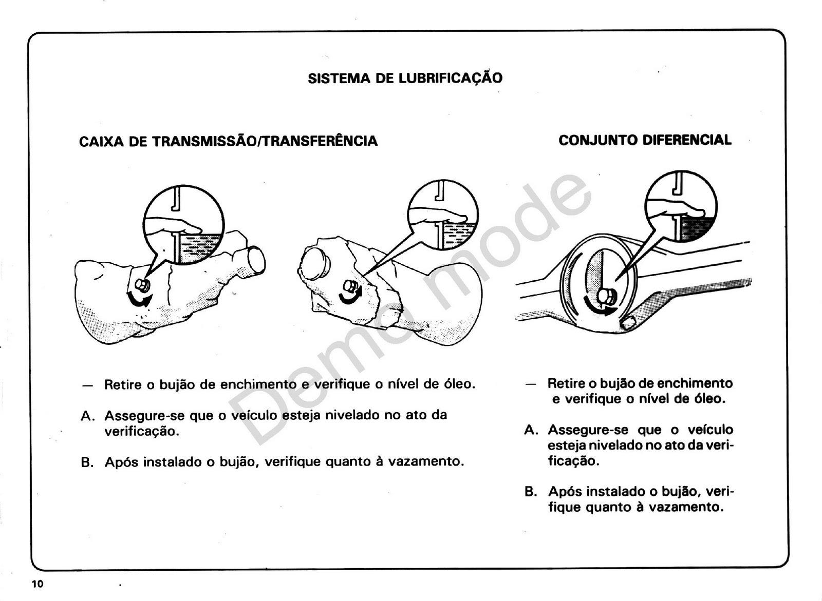 MANUAIS DO PROPRIETÁRIO: Toyota Bandeirante