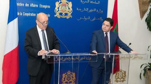 """الحوار الليبي الداخلي: لودريان يرحب بجهود المغرب """"المهمة"""""""