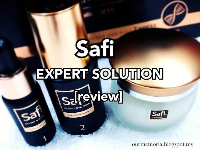 Safi Expert Solution terbukti berkesan mengatasi tompok penuaan dan perlindungan daripada sinaran UV