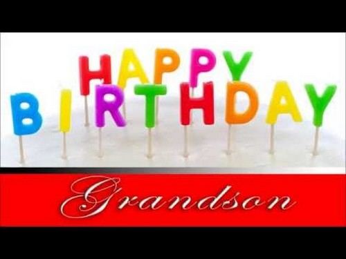Happy Birthday Grandson HD