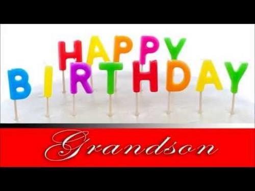 Happy Birthday Grandson HD