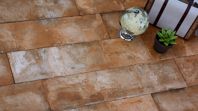 Tiles design images of Terre series - Traditional terracotta floor tiles