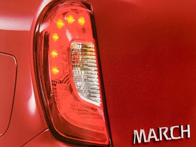 Gambar LED Rear Combination Lamp Nissan March