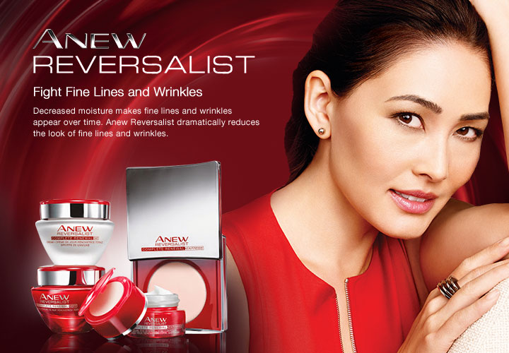 Fine Lines & Wrinkles Fight Fine lines and wrinkles with Anew Reversalist.
