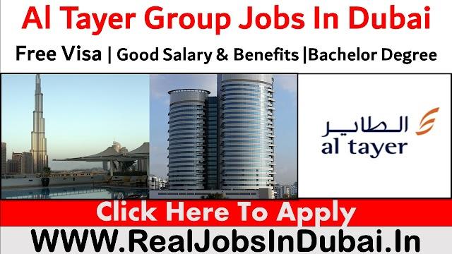 Al Tayer Group Hiring Staff In Dubai  UAE 2021