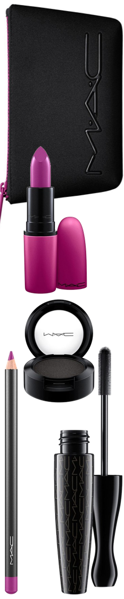 Beauty Exclusives M·A·C 'Look in a Box Girl Band Glam' Purple Lip & Eye Kit