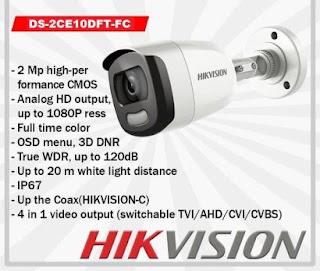 HIKVISION DS-2CE10DFT-FC 3.6mm