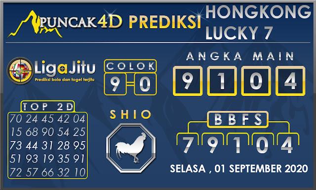 PREDIKSI TOGEL HONGKONG LUCKY7 PUNCAK4D 01 SEPTEMBER 2020