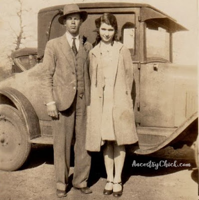 Harold Stephens and Ruby Christina Kephart