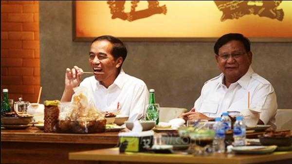 Makna MRT dan Sate di Pertemuan Jokowi-Prabowo
