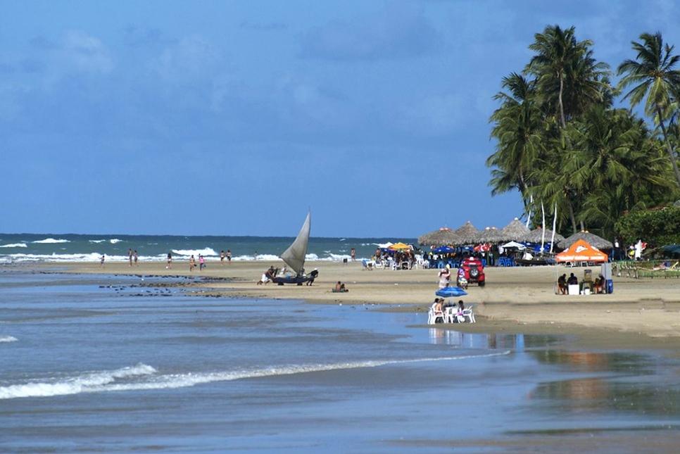 Praia de Flecheiras, Trairi, Ceará