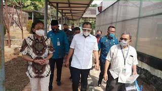 Bupati Batubara Didampingi Asisten Perekonomian Dan Pembangunan Kunjungi BATAN Jakarta