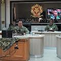 Pangkostrad Letjend Besar Harto Karyawan Gelar Pembekalan Secara Virtual Bagi Taruna dan Taruni Akmil