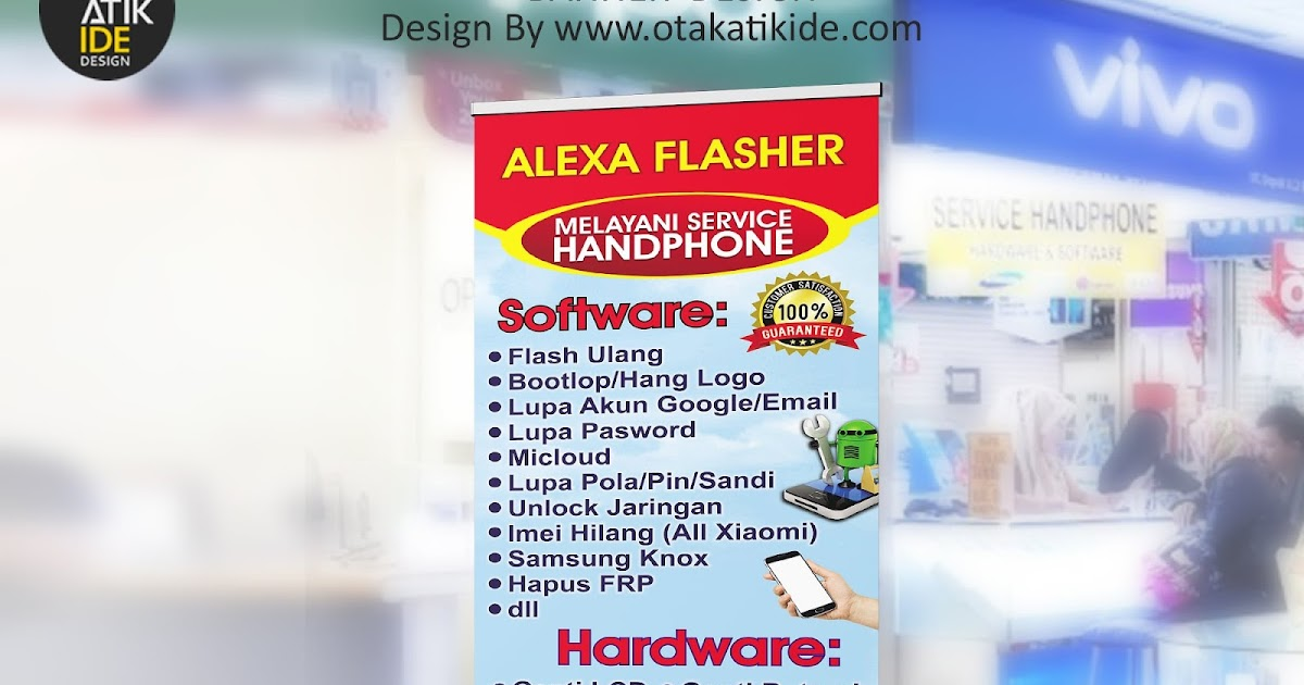 Jasa desain banner promosi - Otakatikide | Branding Design ...