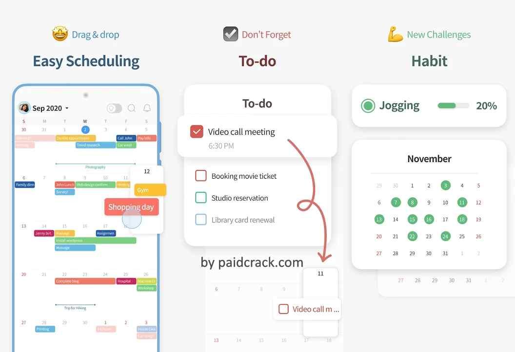 TimeBlocks - Calendar Todo Note Mod Apk