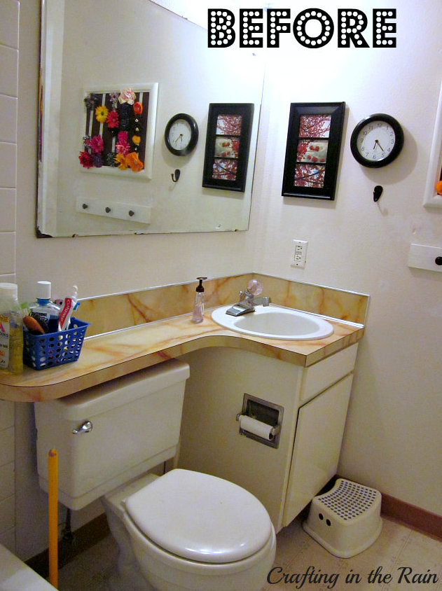 Small bathroom ideas crafting in the rain for Bathroom photos for small bathrooms
