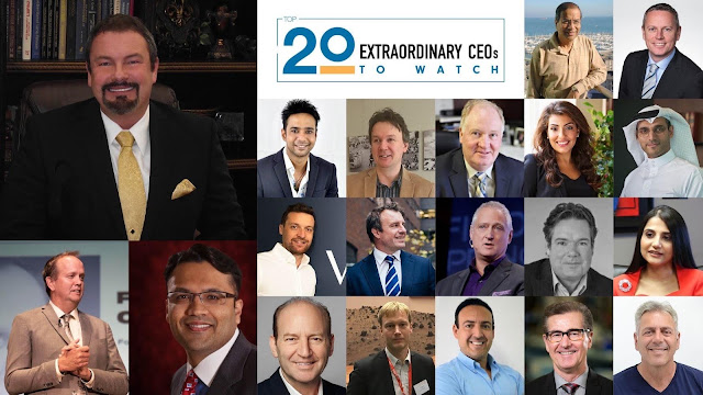 20 Most Extraordinary CEOs to Watch 2019 | Industry Wired