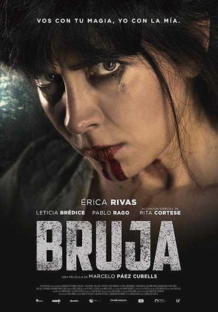 """Tráiler de """"Bruja"""" (2019), película argentina de magia y suspense protagonizada por Érica Rivas"""
