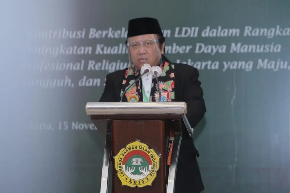Gubernur DKI Jakarta Anis Baswedan Membuka Musyawarah Wilayah (Muswil) Lembaga Dakwah Islam Indonesia Provinsi DKI Jakarta