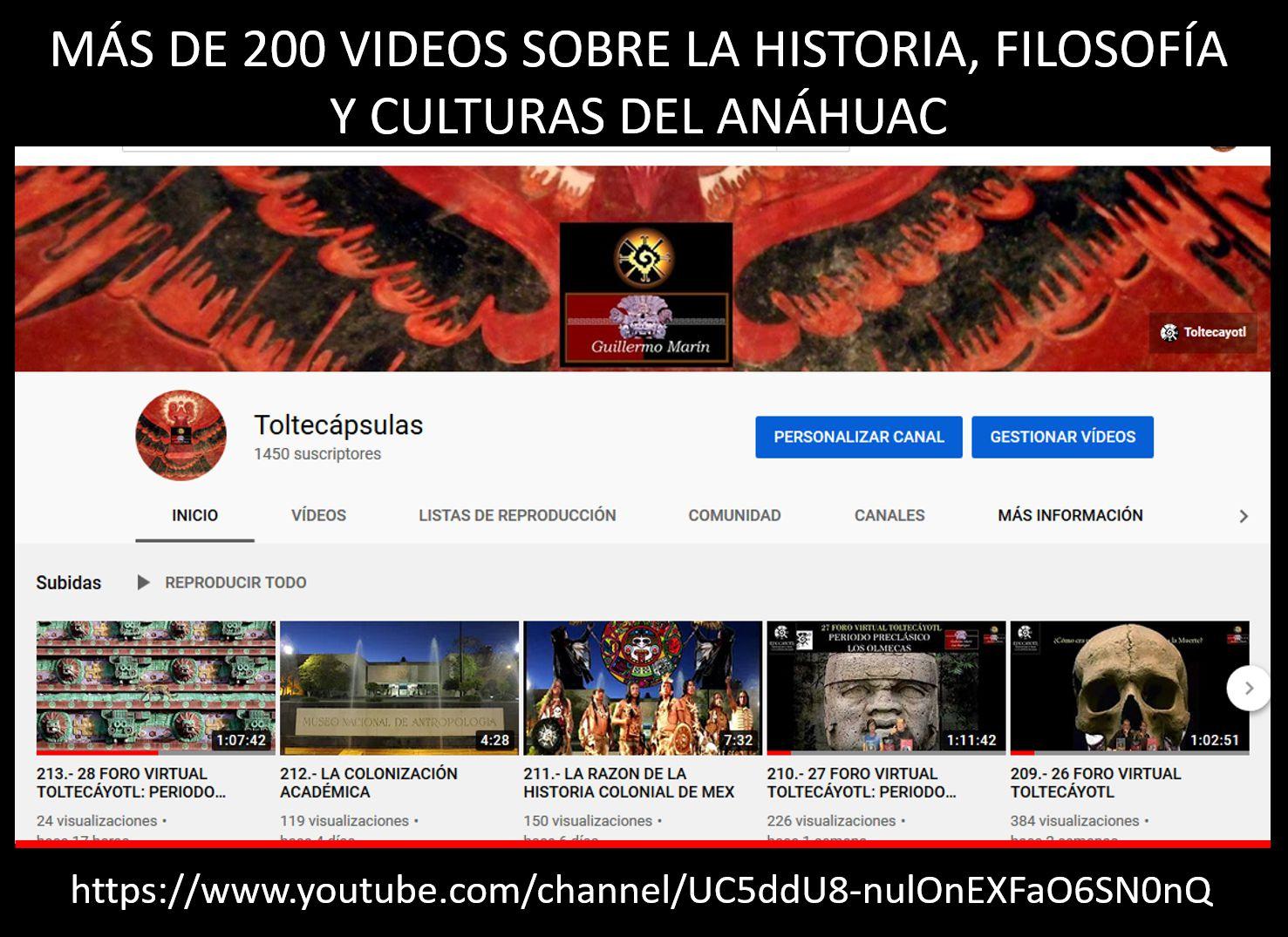 TOLTECAPSULAS en You Tube
