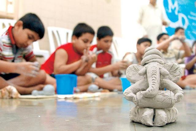 Learn how to make Eco-friendly Ganesha at Phoenix Marketcity
